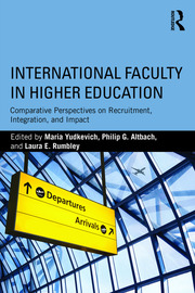 International Faculty in Higher Education - 1st Edition book cover