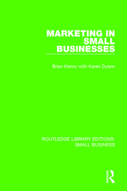Marketing in Small Businesses - 1st Edition book cover
