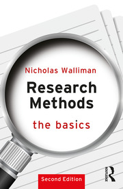 Research Methods: The Basics : 2nd edition - 2nd Edition book cover