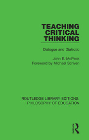 Teaching Critical Thinking - 1st Edition book cover