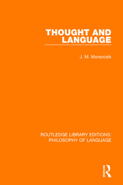 Thought and Language - 1st Edition book cover