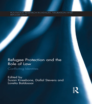 Refugee Protection and the Role of Law - 1st Edition book cover