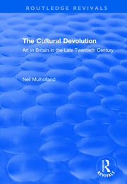The Cultural Devolution - 1st Edition book cover