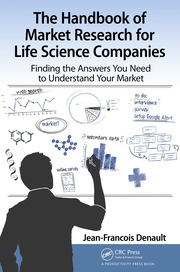 The Handbook for Market Research for Life Sciences Companies - 1st Edition book cover