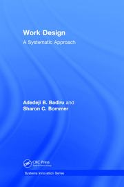 Work Design: A Systematic Approach
