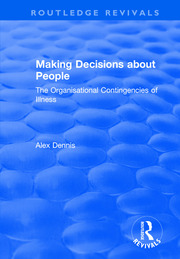 Making Decisions about People - 1st Edition book cover