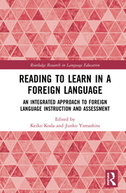 Reading to Learn in a Foreign Language - 1st Edition book cover