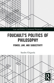 Foucault's Politics of Philosophy - 1st Edition book cover