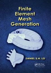 Finite Element Mesh Generation - 1st Edition book cover