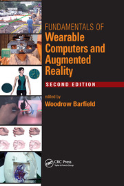 Fundamentals of Wearable Computers and Augmented Reality - 2nd Edition book cover