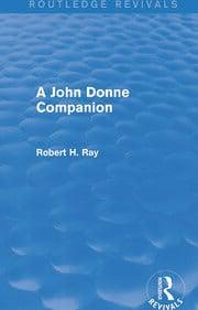 A John Donne Companion (Routledge Revivals) - 1st Edition book cover