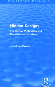 Hidden Designs (Routledge Revivals) - 1st Edition book cover