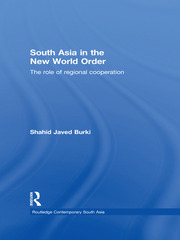 South Asia in the New World Order - 1st Edition book cover