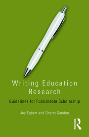 Writing Education Research - 1st Edition book cover