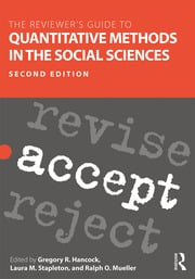The Reviewer's Guide to Quantitative Methods in the Social Sciences - 2nd Edition book cover