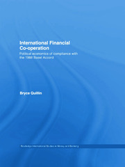 International Financial Co-Operation - 1st Edition book cover