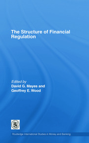 The Structure of Financial Regulation - 1st Edition book cover