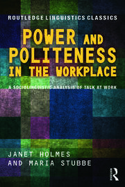 Power and Politeness in the Workplace - 2nd Edition book cover