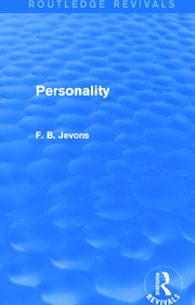 Personality (Routledge Revivals) - 1st Edition book cover