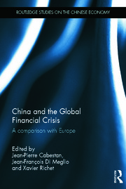 China and the Global Financial Crisis - 1st Edition book cover