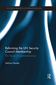 Reforming the UN Security Council Membership - 1st Edition book cover