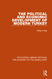 The Political and Economic Development of Modern Turkey - 1st Edition book cover