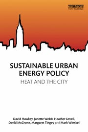 Sustainable Urban Energy Policy - 1st Edition book cover