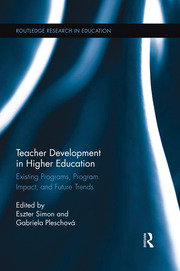 Teacher Development in Higher Education - 1st Edition book cover