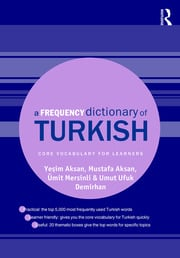 A Frequency Dictionary of Turkish - 1st Edition book cover