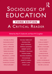 Sociology of Education : A Critical Reader - 3rd Edition book cover
