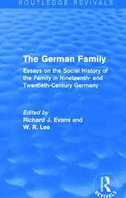 The German Family (Routledge Revivals) - 1st Edition book cover
