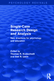 Single-Case Research Design and Analysis - 1st Edition book cover