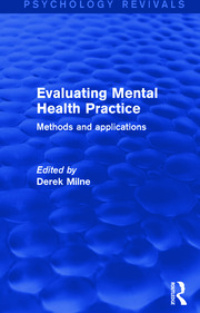 Evaluating Mental Health Practice - 1st Edition book cover