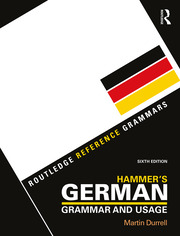 Hammer's German Grammar and Usage - 6th Edition book cover