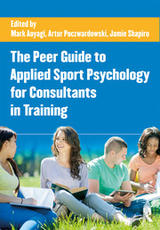 The Peer Guide to Applied Sport Psychology for Consultants in Training - 1st Edition book cover