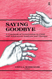 Saying Goodbye - 1st Edition book cover