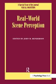 Real World Scene Perception - 1st Edition book cover