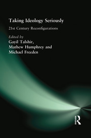 Taking Ideology Seriously - 1st Edition book cover