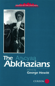 The Abkhazians - 1st Edition book cover