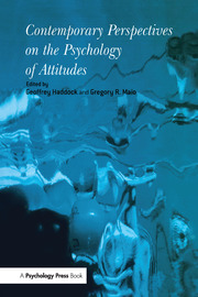 Contemporary Perspectives on the Psychology of Attitudes - 1st Edition book cover