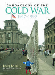 Chronology of the Cold War - 1st Edition book cover