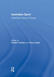 Australian Sport - 1st Edition book cover