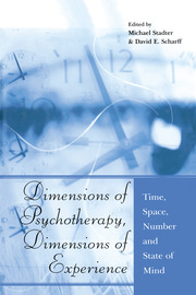 Dimensions of Psychotherapy, Dimensions of Experience - 1st Edition book cover