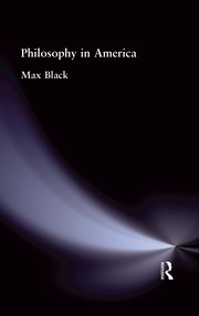 Philosophy in America - 1st Edition book cover