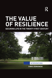 The Value of Resilience - 1st Edition book cover