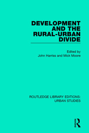 Development and the Rural-Urban Divide - 1st Edition book cover