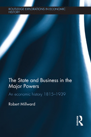 The State and Business in the Major Powers - 1st Edition book cover
