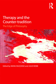 Therapy and the Counter-tradition - 1st Edition book cover