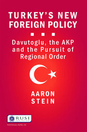 Turkey's New Foreign Policy - 1st Edition book cover