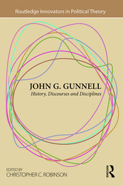 John G. Gunnell: History, Discourses and Disciplines